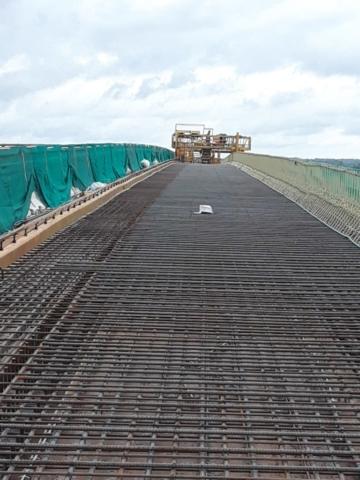 Deck ready for the concrete pour