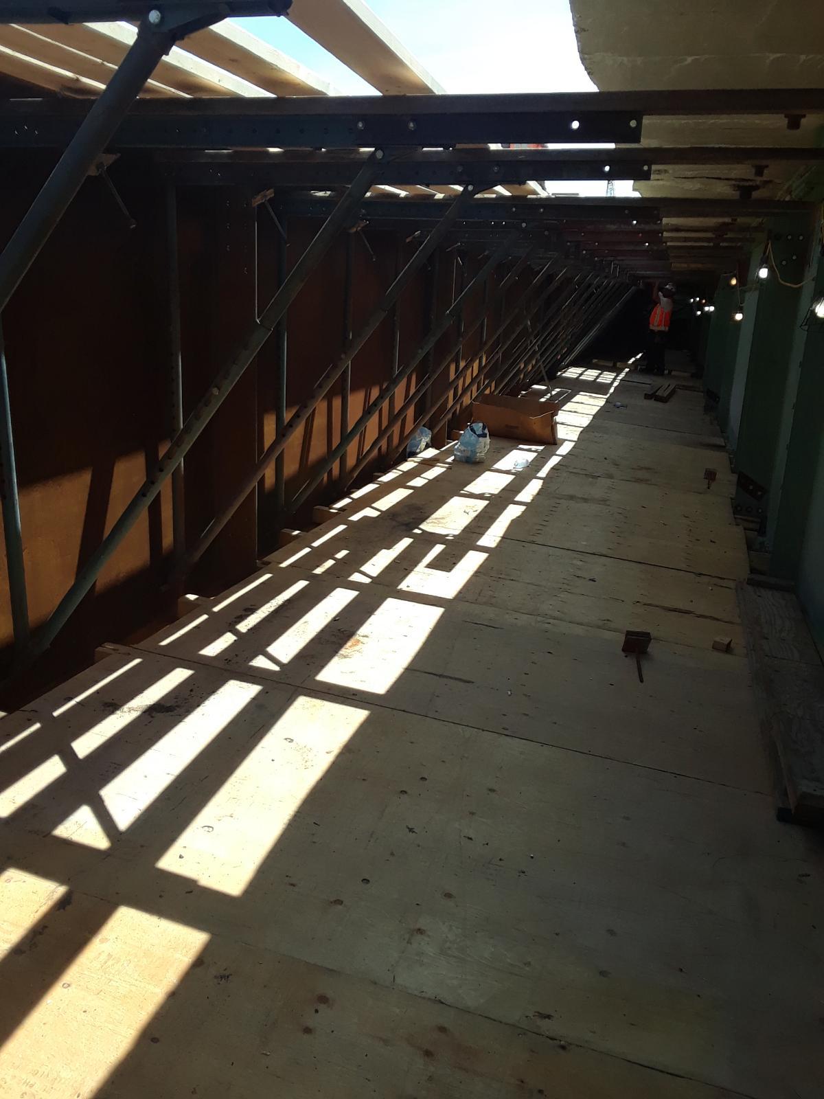 Preparing for concrete forms