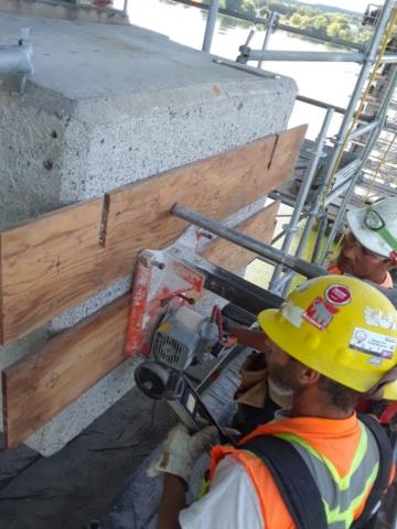 Pier 5 sub-structure rehabilitation