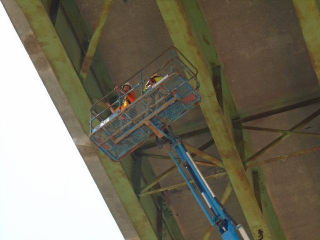 Structural steel inspection