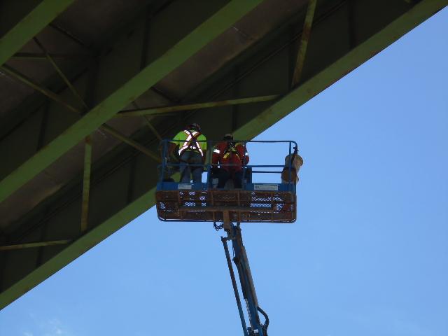 Structural steel repairs