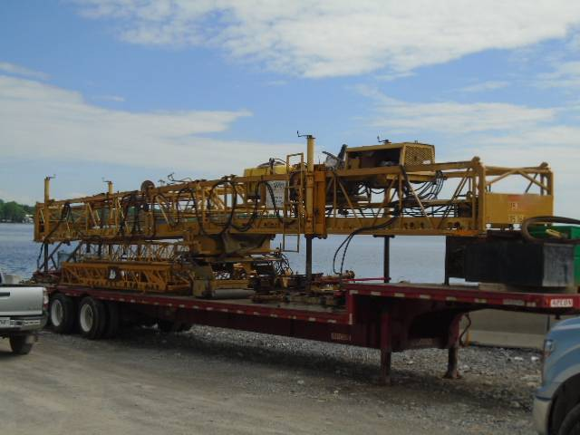 Concrete finisher delivered to site