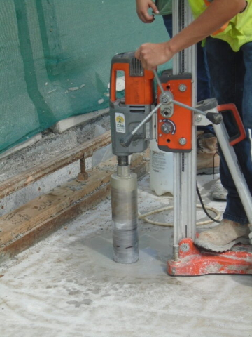 AVS Core drilling - for testing