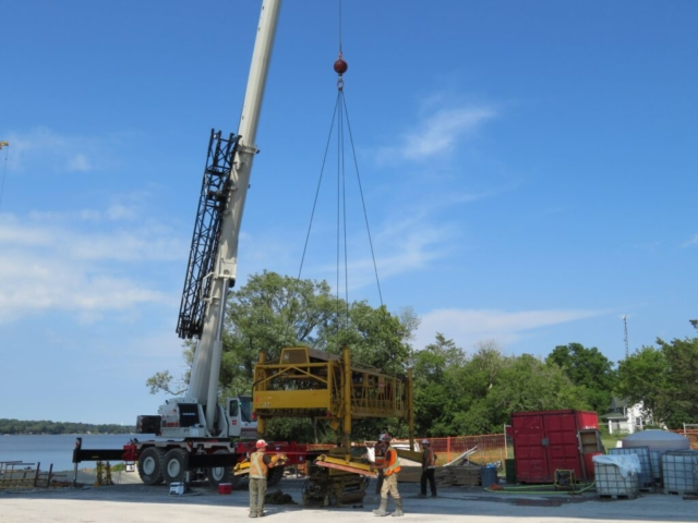 Building the concrete finisher